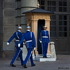 Jane and Joes<br /> A Female Post Guard & Two Others<br /> Royal Palace<br /> Stockholm, Sweden