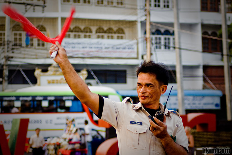 The Flag in His Hand<br /> A Railroader in Thailand