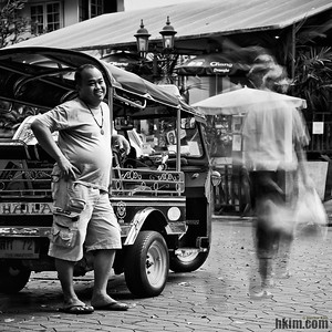 Want a Ride, Miss? Hello? Bangkok, Thailand