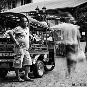 Want a Ride, Miss? Hello? Bangkok, Thailand
