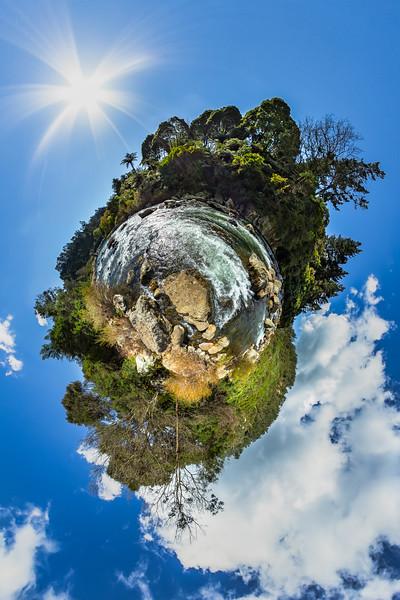 Ohinemuri River - The Crown Mines - Karangahake Gorge