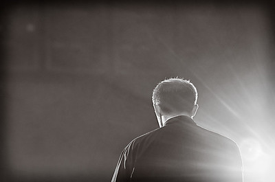 09/21/2011 ***In the Light*** (Father Brian praying over the teens at the foot of the stage before the concert)