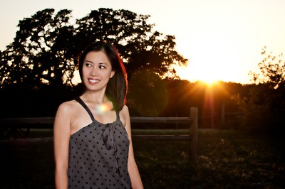 07/10/2011 Portrait into the sunset :)