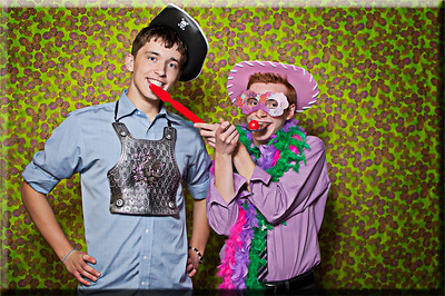 Wednesday May 30, 2012 Props: because sometimes the wedding guests may not have personalities of their own.