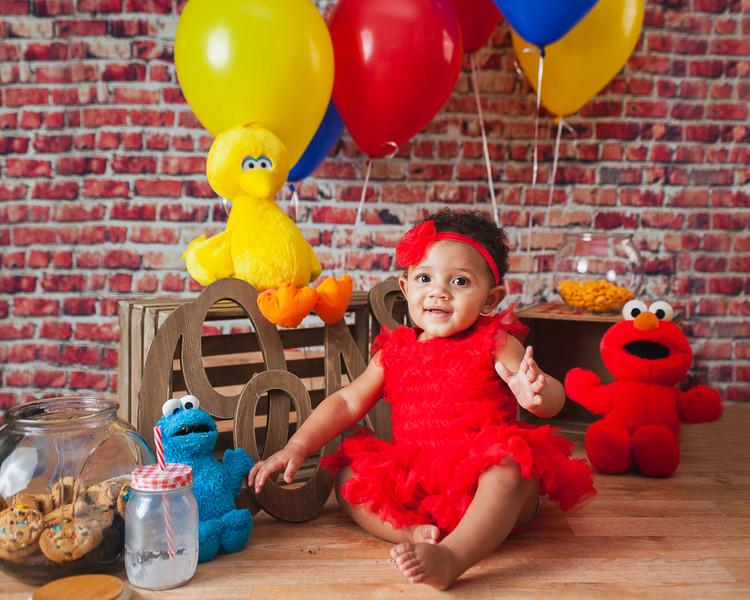 Wynter   First birthday session