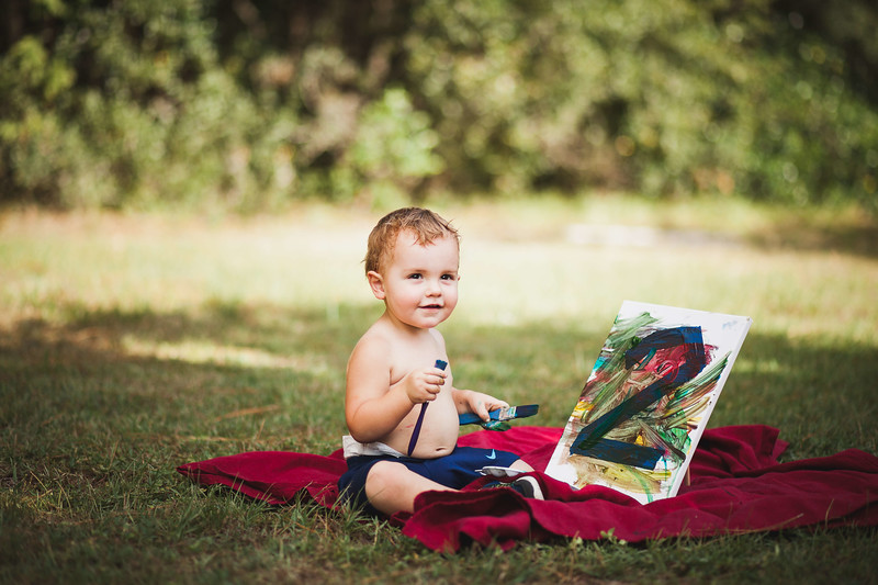 Wyatt | Second birthday session