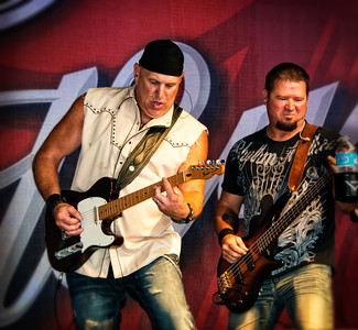 Lead Guitarist and Bass players from recent State Fair Show. Great entertainment.