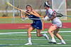 Eighth-grader Caitlyn Wurzburger, a Syracuse University commit, helps American Heritage School - Boca reach the state semifinal playoffs  in only the 2nd year of the program.  The 20-3 Stallions may have lost to Vero Beach 12-6 in the semifinal but the future is bright for Wurzburger and the program.  April 29, 2016.  Jupiter High School, Jupiter, FL.