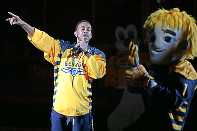 Ludacris performs at hafltime of Game 1 of the National Lacrosse League's Champions Cup Final.  June 4, 2017, Infinite Energy Arena, Duluth, Georgia.