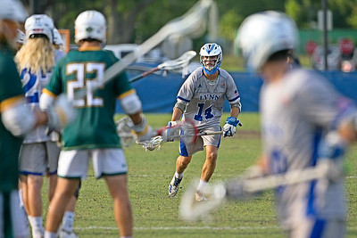 Lynn enjoyed a strong 11-4 season, but were bitterly disappointed by a 9-7 loss to Saint Leo in the NCAA D2 Sunshine State Conference Semifinal, a mere 5 days after they had beat them 11-10 in OT in the last game of the regular season. 4/25/2019 - Bobby Campbell Stadium at Lynn University, Boca Raton, FL