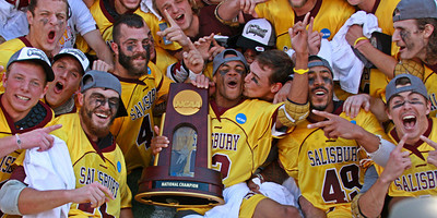 Salisbury wins their 2nd consecutive National Championship (Division III).  May 27, 2012.