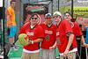Crooked Arrows movie stars rip up Reebok's Watermelon Challenge at NCAA Championship Weekend at Harvard Stadium.  May 26, 2012.