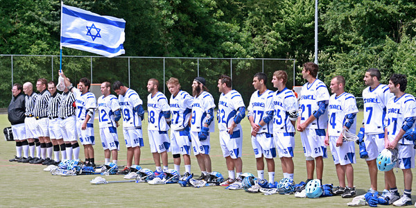 After 2 years of hard work, Israel Lacrosse competes in it's first tournament; the European Championship in Amsterdam, Holland.
