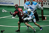 John Grant Jr. returns to Rochester as his Colorado Mammoth defeat the Knighthawks.  March 31, 2012