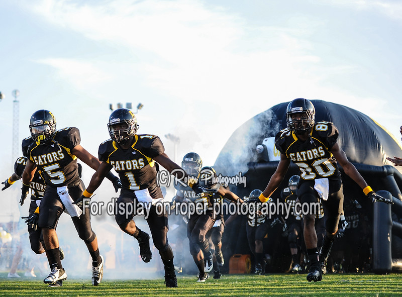 Oct. 12, 2012-Goose Creek, South Carolina,U.S.-Goose Creek defeat Cane Bay on ESPNU Game of the week John Fulmer Field in Goose Creek, South Carolina.