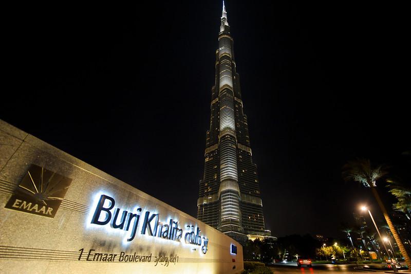 21 OCT 2011 - Burj Khalifa and Mall area, Dubai, UAE.