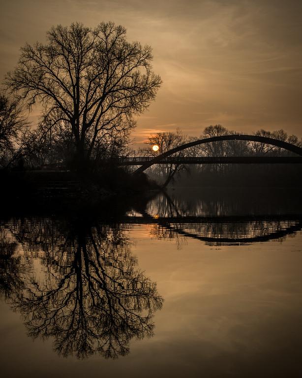 Sunrise At The Bridge