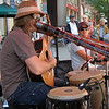 Didgeridoo player, Busker Fest 2008