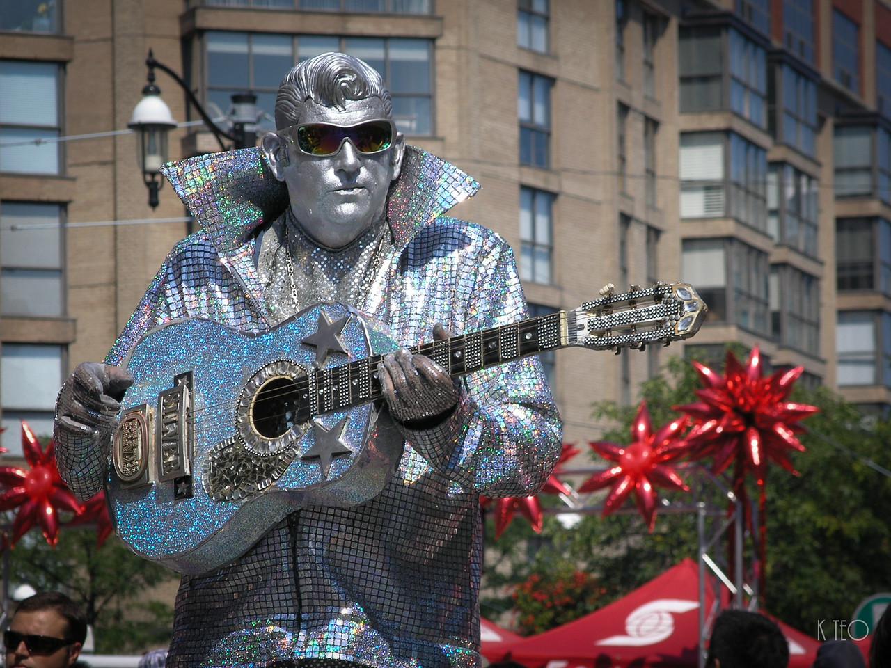 Silver Elvis 1