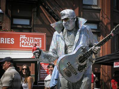 Silver Elvis Poutine