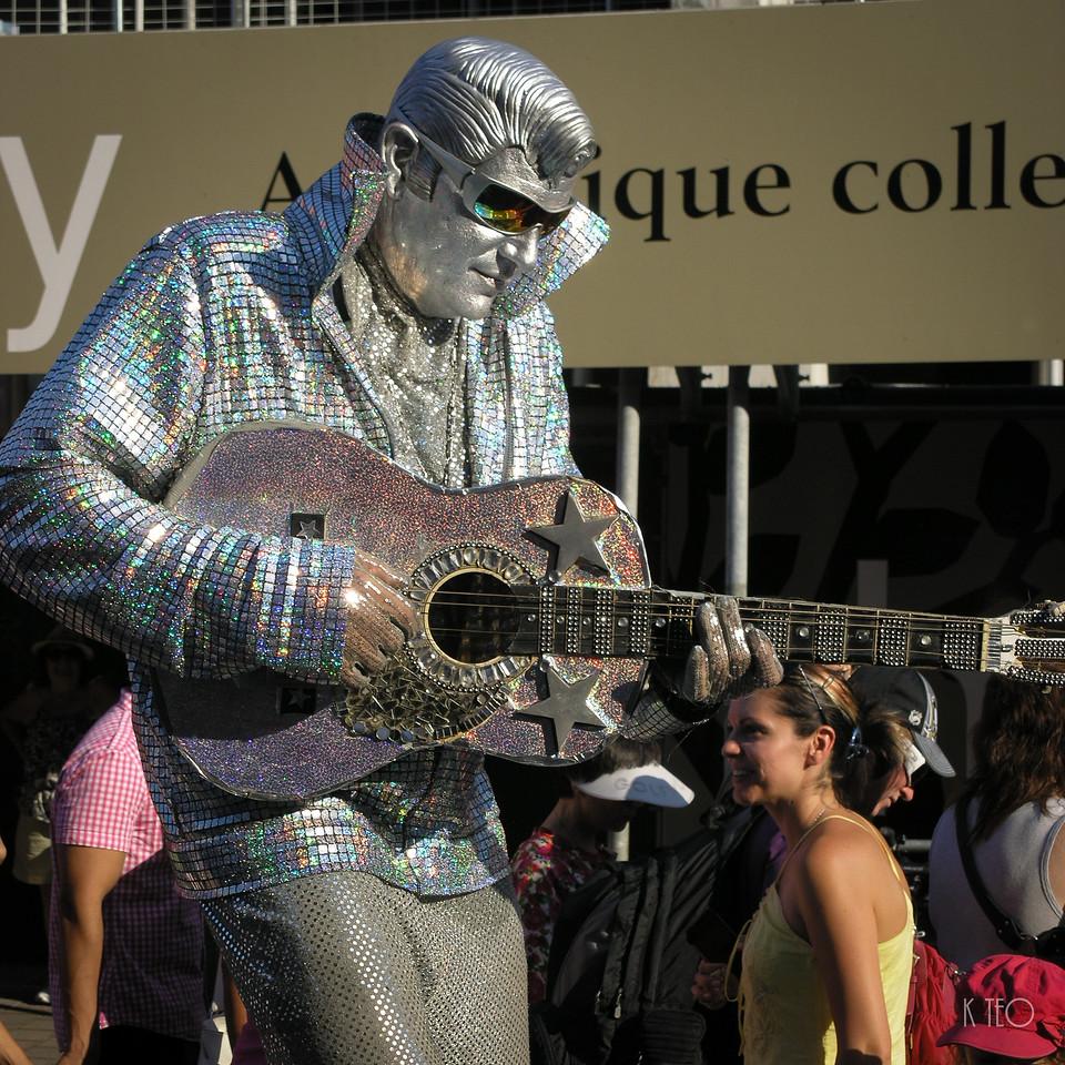 Silver Elvis 3