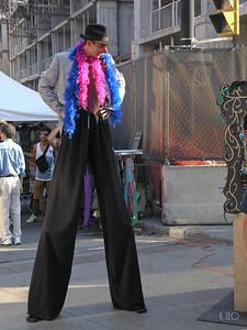 Tall Boa Man