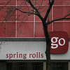 Spring Rolls Signage