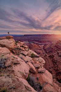 Sunset at Dead Horse Point