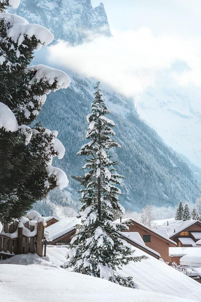 Mid-morning in Lauterbrunnen, Bernese region