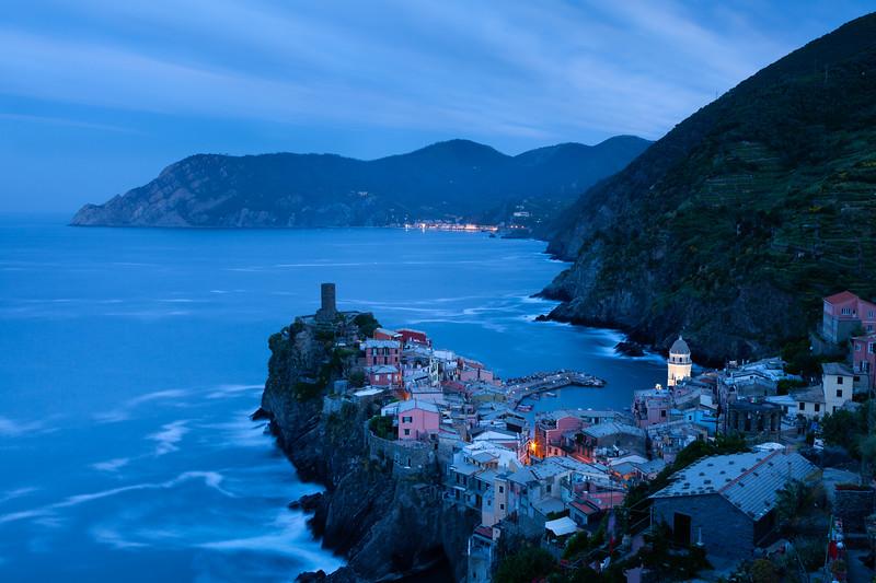 Dawn over Vernazza