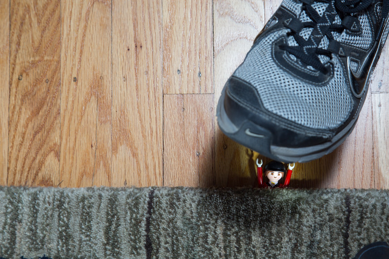 The misfortune of getting caught under the carpet