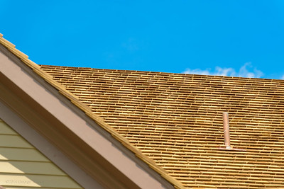New Cedar Shingle Rooftop