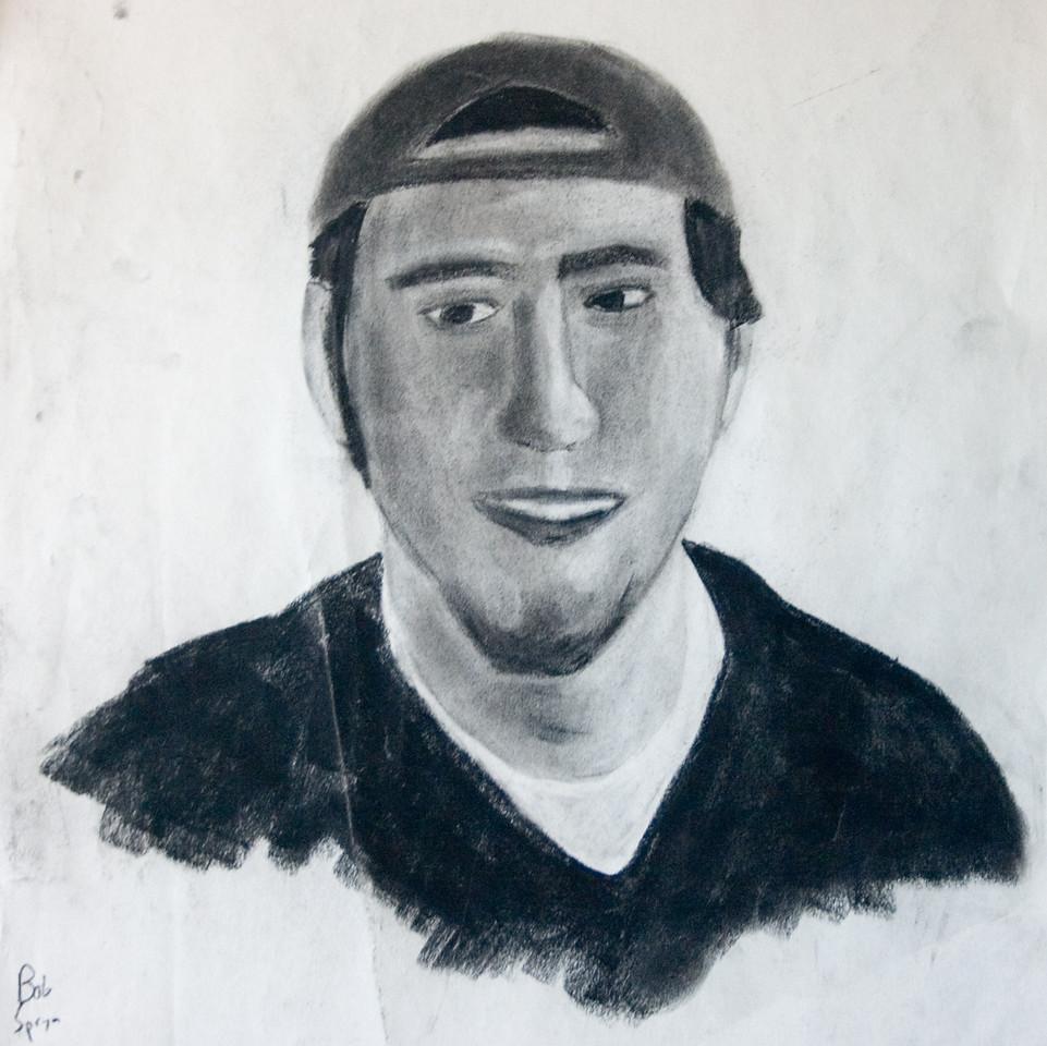 Self Portrait - Charcoal