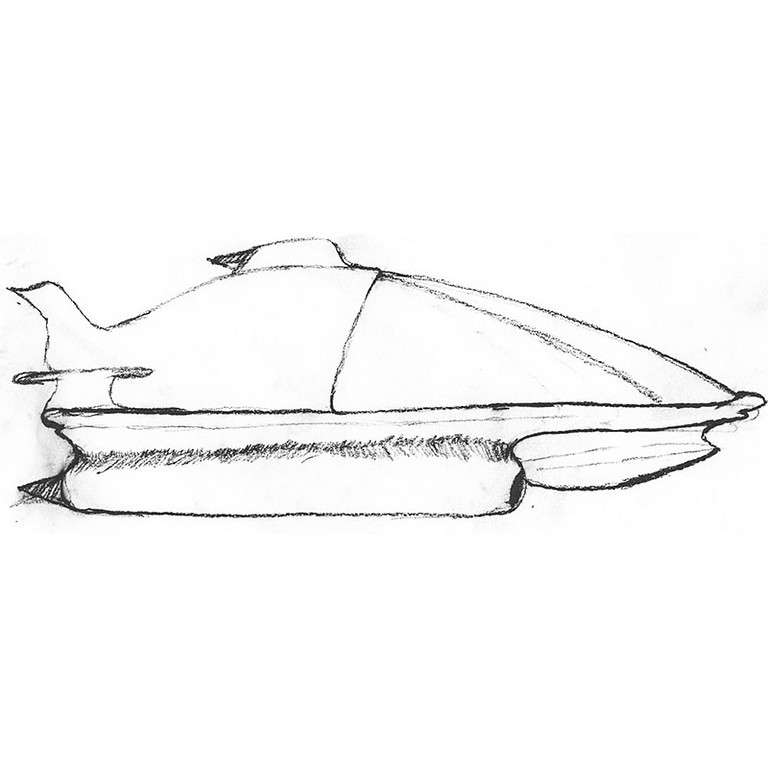 Sketch for reference in 3D - Pencil