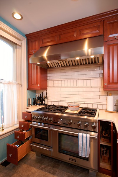 Traditional and transitional kitchens