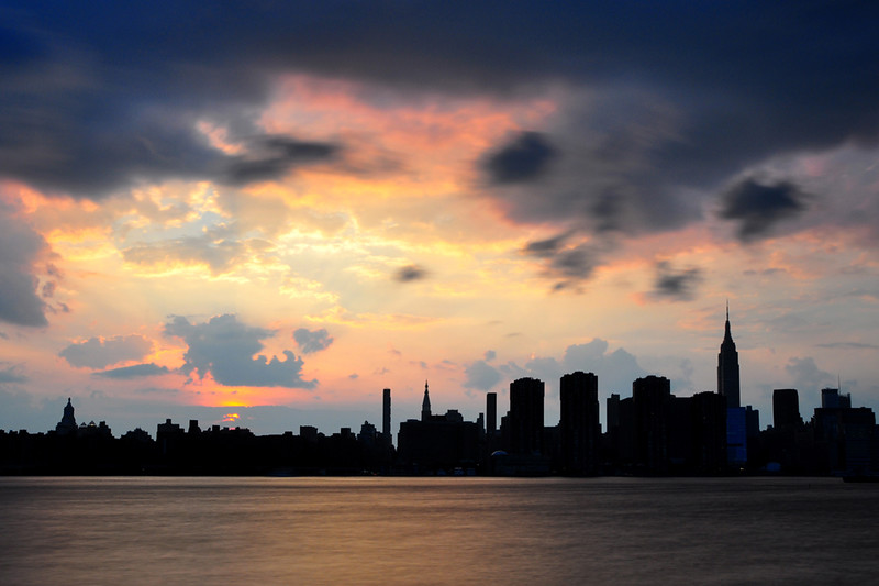 Clouds Over NYC