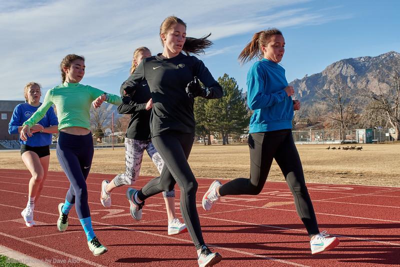 TrainingGroups, CU Runners, Boulder
