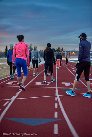 Sunrise,  Boulder Track Club