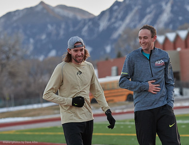 Bradley Harkrader with Brent Vaughn