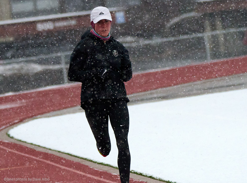 RootsRunning-Snow and Fog on the track.