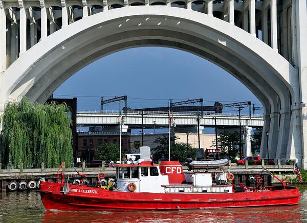 Worldwide Photo Walk - Cleveland Flats - Fire Boat