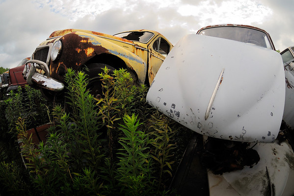 Volvo Graveyard -10.5mm Fisheye