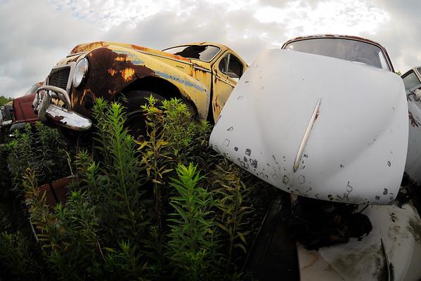 Volvo Graveyard -10.5mm Fisheye