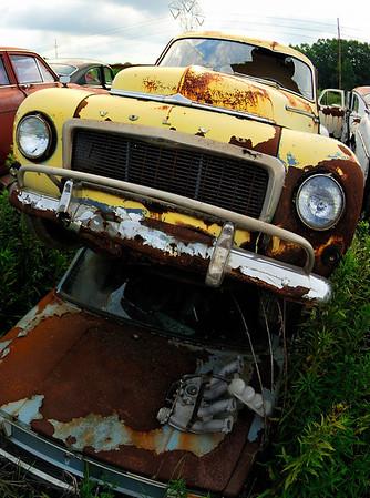 Yellow Volvo