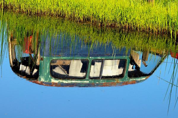 Reflection - Volvo Graveyard
