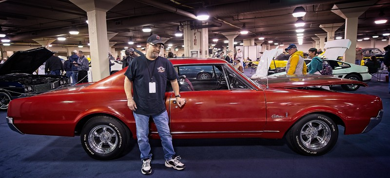 Dale Vargo at the Piston Power Show