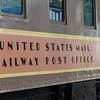 US Mail Railway Post Office Railcar at Galveston Railroad Museum.