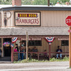 Hamburger place in Silverton, Colorado. Popular with tourists from Durango and Silverton train rides.