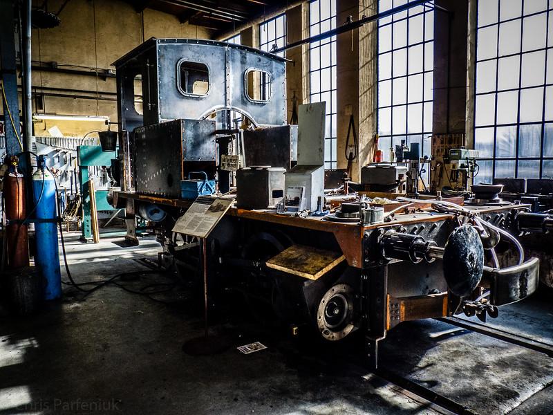 Stoomlocomotief 6513 Rebuild
