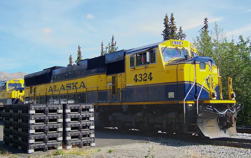 Alaska Diesel Engine - Denali National Park Station, AK